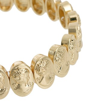 Image 2 ofASOS Stretch Cameo Bracelet