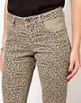 Image 3 ofASOS Skinny Jeans in Animal Print