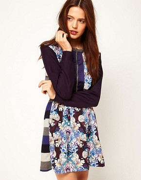 Image 1 ofASOS Africa Mix Print Dress