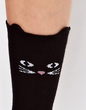 Image 2 ofLazy Oaf Cat Socks