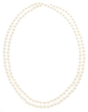 Image 2 ofASOS Extra Long Pearl Rope Necklace