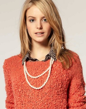 Image 3 ofASOS Extra Long Pearl Rope Necklace