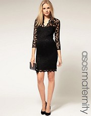 ASOS Maternity &ndash; Katie &ndash; Spitzenkleid