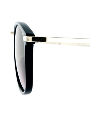 Image 4 ofA J Morgan Round Sunglasses