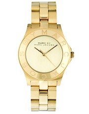 Marc By Marc Jacobs Blade Gold Watch