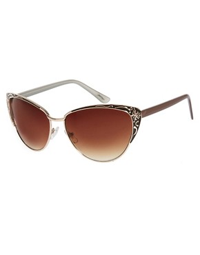 Image 1 ofJeepers Peepers Vintage Look Sunglasses