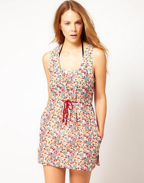 Image 1 ofFrench Connection Multi Spot Beach Dress