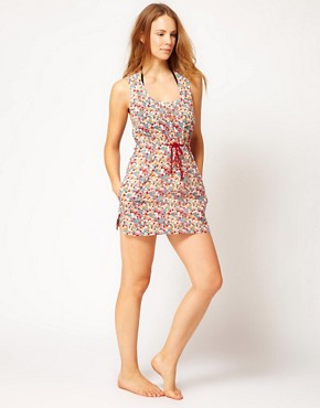 Image 4 ofFrench Connection Multi Spot Beach Dress