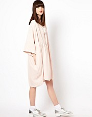 Peter Jensen Bow Smock in Viscose Crepe