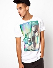 Friend or Faux T-Shirt with Jackshot Print