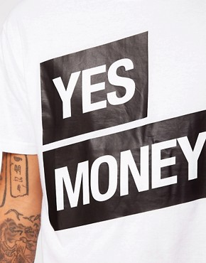 Image 3 ofMoney T-Shirt Yes No Print