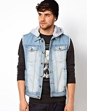 Brave Soul Denim Gilet