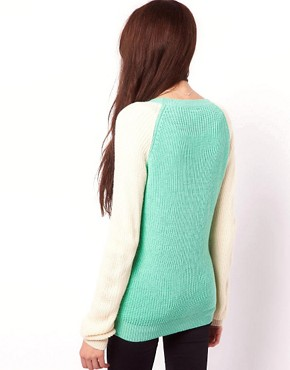 Image 2 ofVero Moda Two Tone Raglan Cardigan