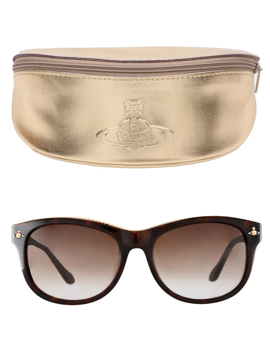Image 2 of Vivienne Westwood Zip Top Sunglasses