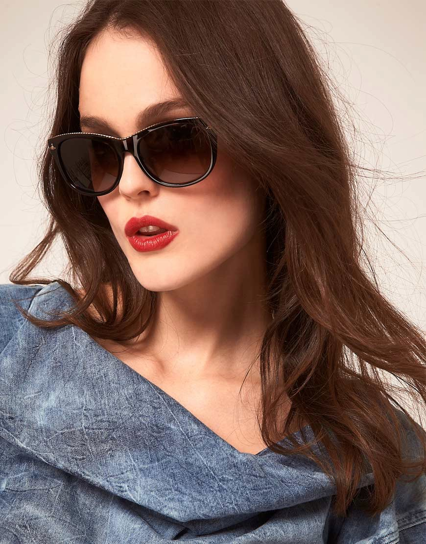Image 3 of Vivienne Westwood Zip Top Sunglasses