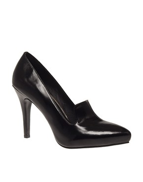 Image 1 ofASOS SIREN Point High Vamp Heeled Shoe