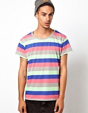 Cheap Monday Alex Stripe T-Shirt