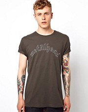 ASOS T-Shirt With Metalhead Print