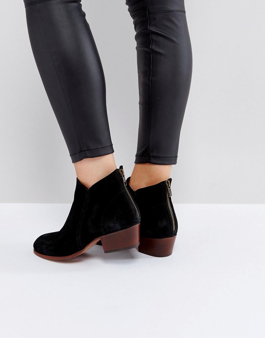 hudson-london-apisi-black-suede-mid-heeled-ankle-boots-black