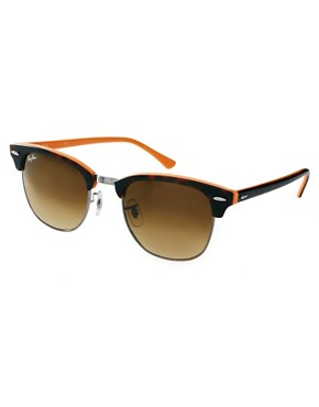 Image 1 ofRay-Ban New Clubmaster Sunglasses