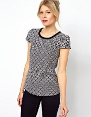 Oasis Jacquard Top