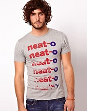 Paul Smith Jeans T-Shirt with Neato Print