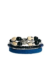 ASOS Cross Bead Bracelet Pack