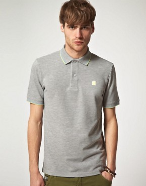 Image 1 ofG Star Slim Clean Polo