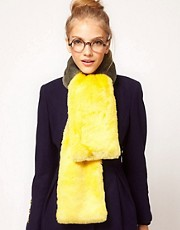 ASOS Ombre Faux Fur Scarf