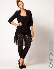 ASOS CURVE Leggings With Embellishment