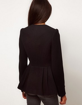 Image 2 ofASOS Peplum Hem Jacket
