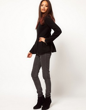 Image 4 ofASOS Peplum Hem Jacket