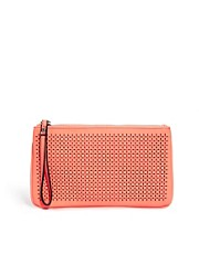 New Look Paradise Chop Out Zip Top Clutch Bag