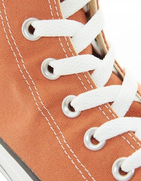 Image 2 ofConverse All Star Hi-Top Plimsolls