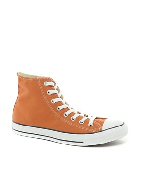 Image 1 ofConverse All Star Hi-Top Plimsolls