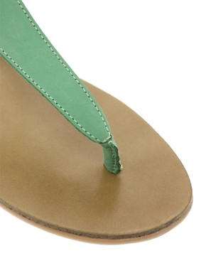 Image 2 ofOasis Plain Toe Post Sandals
