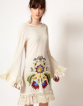 Image 1 ofOne Teaspoon Embroidered Dress