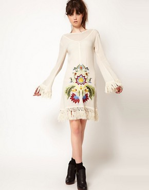 Image 4 ofOne Teaspoon Embroidered Dress