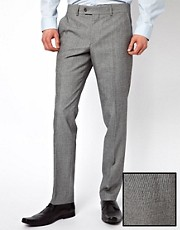 Caxton Skinny Fit Stripe Trousers