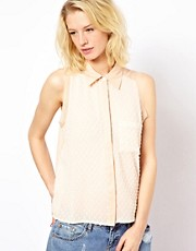 71 Stanton Sleeveless Shirt Top
