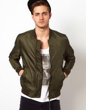 Image 1 ofASOS Bomber Jacket