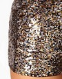 Image 3 ofASOS Knicker Short In Mixed Sequin