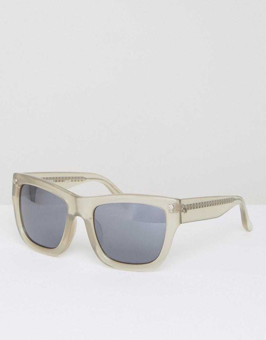 Квадратные солнцезащитные очки с зеркальными стеклами Matthew Williams от Matthew Williamson