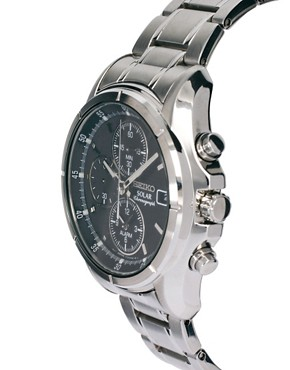 Image 4 ofSeiko Solar Chronograph Watch SSC005P1