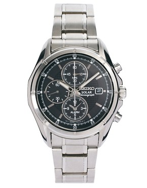 Image 1 ofSeiko Solar Chronograph Watch SSC005P1