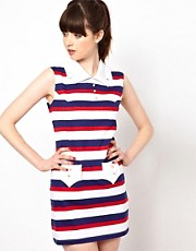 Pop Boutique Nautical Shift Dress