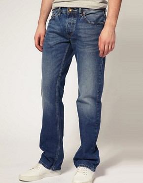 Image 1 ofDiesel Larkee 73P Straight Jeans