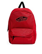 Vans Realm Red Backpack