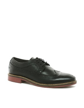 Image 1 ofBase London Barcelona Brogue Shoes