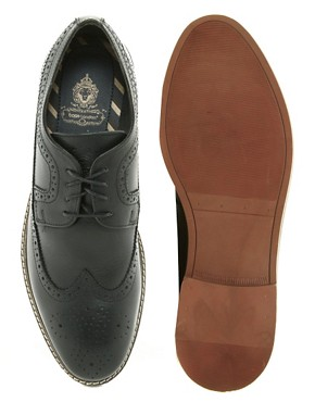 Image 3 ofBase London Barcelona Brogue Shoes